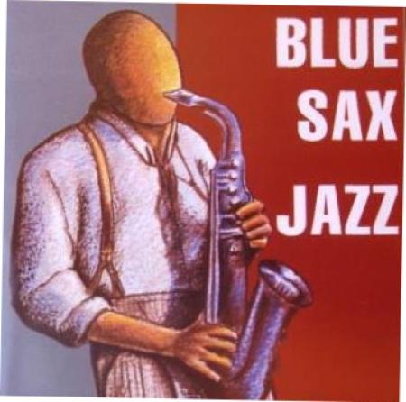 blue sax jazz