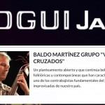 """BALDO MARTÍNEZ GRUPO """"VIENTOS CRUZADOS"""" en Bogui Jazz"""